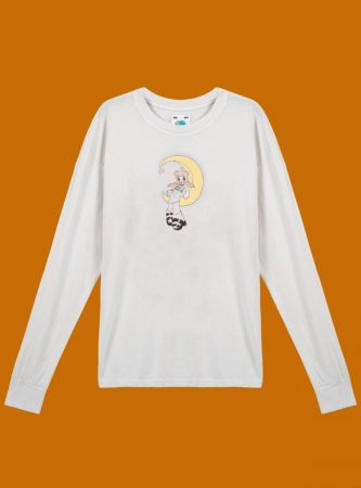Tops | Unif Womens Mayu'S Lullaby Long Sleeve Vintage White